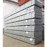 El panel Grating de acero galvanizado