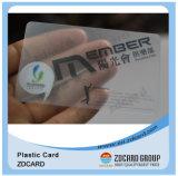 プラスチックMIFARE FM4428の標準的なRFID透過名刺