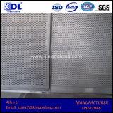 Chapa perfurada de alta qualidade em chapa metálica perfurada / chapa de perfuração