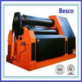 Máquina de dobra de 4 rolos, máquina de rolamento da placa de 4 rolos, máquina de dobra hidráulica da placa