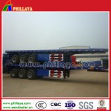 Cimc dreiachsiger 40-60tons 40FT Behälter-Transport-Flachbett-halb Schlussteil
