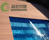 Decking impermeável do assoalho ao ar livre WPC da piscina
