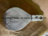 Único bloco de polia chapeado zinco do cabo da polia com olho do giro