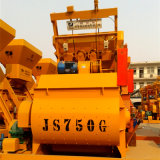 O misturador de cimento concreto compulsório de empacotamento o mais atrasado do eixo gêmeo (Js750)