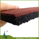 Pajote al aire libre antiestático del caucho del suelo de la alta flexibilidad