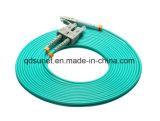 Sc-LC Om3 fibra duplex Patchcord ottico
