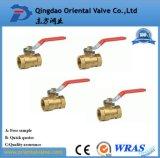 Bom preço Usado manualmente Union 1-1 / 4 Inch válvula de esfera de bronze com mamilo
