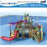 Corrediça funcional Excited do parque da água da casa da água (M11-04501)
