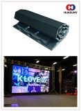 Flexible LED Vorhang-Bildschirmanzeige der hohen Auflösung-