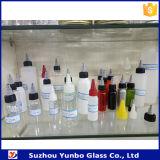 frascos plásticos do animal de estimação de 30ml 50ml 60ml 120ml 150ml com o tampão da parte superior da torção para a embalagem líquida de E