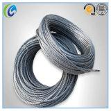 Corde de fil d'acier de 7*7 Ungalvanized