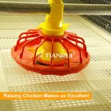 La H digita il sistema dell'alimentazione della coclea del pollame usato gabbia del pollo da carne per pollame