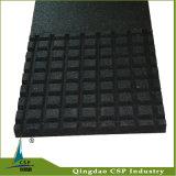 500X500X10mm Antibeleg Sqaure Crossfit ungiftige Gummigarage-Fußboden-Matte