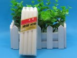 工場を作る白い世帯の蝋燭