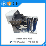Máquina do jato de água da bomba da movimentação direta