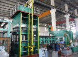 Chaîne de production en caoutchouc de bande de conveyeur d'approvisionnement de la Chine presse de vulcanisation