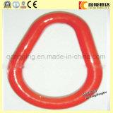 Звено цепи кольца мастерского соединения стали углерода вковки красное покрашенное бесстыковое