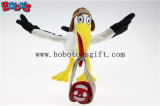 "7.5 "" Höhe White Crane mit Car Package Mascot Toys Customized Stuffed Animal Toy Bos1124"