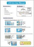 LCD de Houder/het Wapen van de Monitor voor TandEenheid en Intraoral Camera