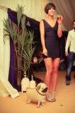 Robes de mariage de enfoncement minces d'exposition sexy de la boîte de nuit KTV
