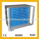 Deslizable de montaje en bastidor de 1U de 19 pulgadas de fibra óptica Patch Panel / ODF