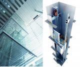 Mrlミラーはステンレス鋼の乗客のエレベーターをエッチングした