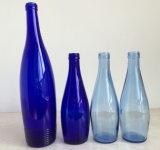 Schwingen-Spitzenglasflasche für Mineralwasser