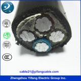 Prix usine de cable électrique de 0.6/1kv Cu/XLPE/Swa/PVC