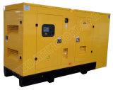 звукоизоляционный тепловозный генератор 113kVA с двигателем 1006tg1a Lovol для проектов здания