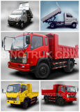 Caminhão de descarga do caminhão 4X2 do camião de Sinotruk Cdw 757 mini