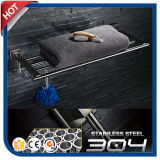 mensole d'acciaio del tovagliolo del hardware della stanza da bagno 304#Stainless (30410)