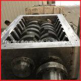 二重シャフトの不用なアルミニウム放出か缶または棒または版またはプロフィールまたはシートの粉砕機機械