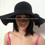 Wolle-Panamafedora-Hut der Form-100% mit Farbband