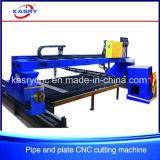De Plaat van het staal en de Ronde Scherpe Machine van de Buis