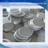 Filtre de paquet de rotation de filtre de paquet de maille d'acier inoxydable