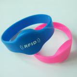 Wristband силикона RFID обломока 13.56MHz I-Code2 Hf для контроля допуска