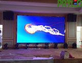 Visualizzazione di LED dell'interno completa di colore P2.5 di HD con i comitati di fusione sotto pressione da 400 * 300 millimetri
