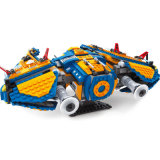 Plastikplatz Starfighter blockt Spielzeug für Kinder
