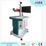 máquina de la marca del laser de la fibra 20W con la fuente de laser de Raycus para el plástico/el metal/el aluminio
