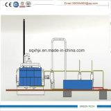 Refinaria de petróleo do pneu da pirólise à planta de destilação Diesel 10tpd