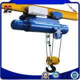 Type de Lx pont roulant de poutre simple électrique pour l'atelier de Space Limited