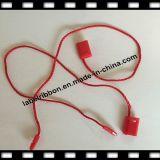 Tag plástico do cair da corda do vestuário da cor (ST008)