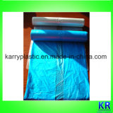 Novo Material Transparente C-Folded Garbage Bags Flat Sealed Bottom