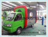 Практически напольный передвижной Fry Van доставки с обслуживанием с Ce
