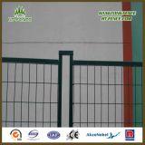 Hohe Sicherheits-Baustahl-Quadrat-Gefäß-temporärer Mietzaun