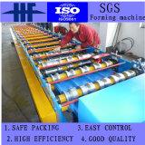 機械を中国製形作る金属によって艶をかけられるタイル屋根のパネルロール
