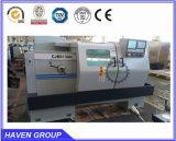 Máquina horizontal CJK6150HX1000 do torno do CNC