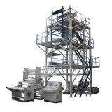 La coextrusión de tres capas de la tracción superior Rotary PE Máquina de película soplada