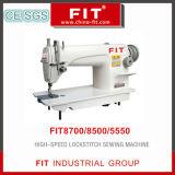 Máquina de alta velocidad del punto de cadeneta de coser 8700/8500/5550