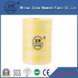 tissu non-tissé de Spunlace de maille de 50G/M2 100G/M2 13 pour le tissu de nettoyage